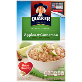 Quaker Apple Cinnamon Instant Oatmeal 430g
