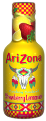 Arizona Cowboy Cocktail Strawberry Lemonade 500ml