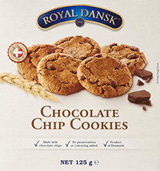 Royal Dansk Chocolate Chip Cookies 125g