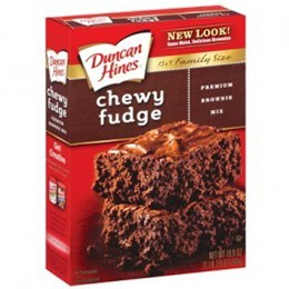DH Chewy Fudge Premieum Brownie Mix 565g