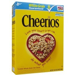 GM Cheerios 396g