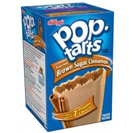 Kellogg's Pop Tart Brown Sugar & Cinnamon 416g