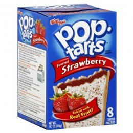 Kellogg's Pop Tart Frosted Strawberry 416g