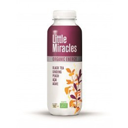 Little Miracles Black Tea Ginseng & Peach Acai 300ml