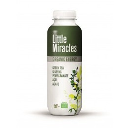 Little Miracles Green Tea & Ginseng Pomegranate 300ml