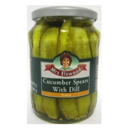 Mrs. Elswood's Cucumber Spears with Dill 670g