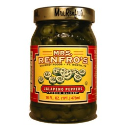 Mrs. Renfro's Jalapeno Peppers 474g