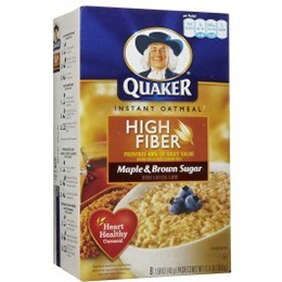 Quaker Instant Brown Sugar Oatmeal 430g