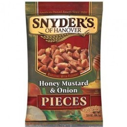 Snyder's Honey Mustard & Onion 125g