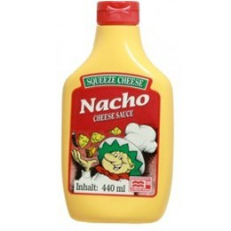Squeeze Nacho Cheese Sauce 440ml