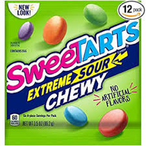 Sweetarts Candy Extreme Sour Chewy 99.2g