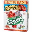 BC Fruit Roll-Ups Strawberry 141g