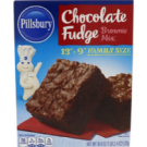 Pillsburry Chocolate Fudge Brownie Mix 521g
