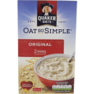 Quaker Oat So Simple Original Porridge 324g