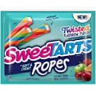 Sweetarts Soft & Chewy Ropes Twisted Rainbow Punch 99.2g